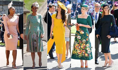 celebrity pics at royal wedding royal wedding guests the top 20 best dressed royals and