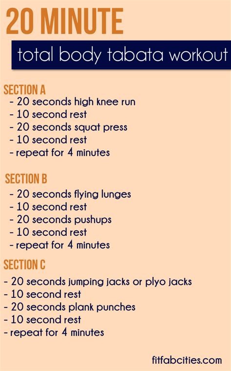 bridal fitness on paper 20 minute cardio intervals