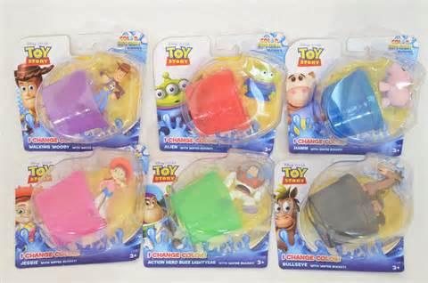color changing toys story splash buddies bundle pack 6 color change toys