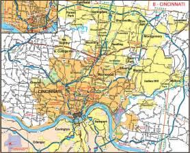 us map showing cincinnati cities11