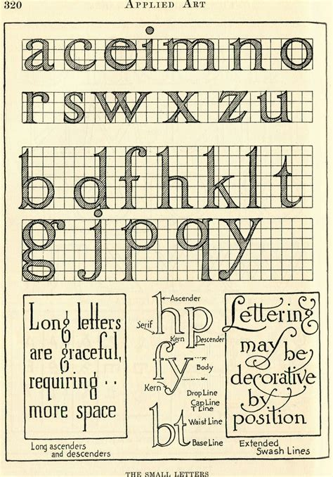 vintage clip art lovely lettering typography