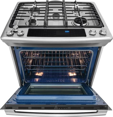 Oven Electrolux electrolux ew30ds80rs 30 inch dual fuel slide in range