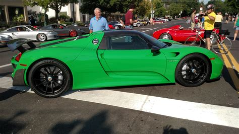 porsche viper green pts viper green has landed rennlist discussion forums