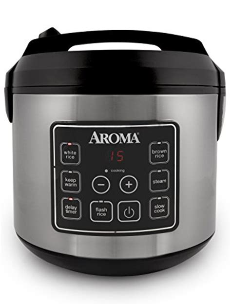 Rice Cooker Digital aroma arc 150sb digital rice cooker and food steamer