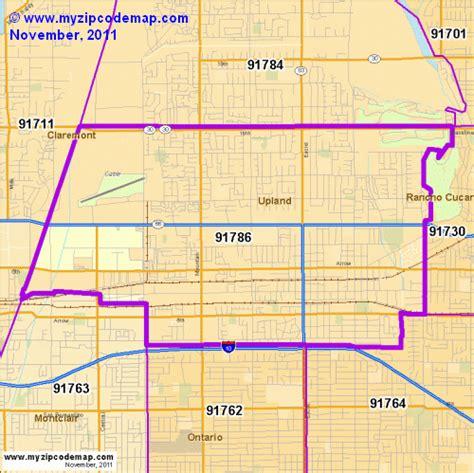 zip code map upland ca zip code map of 91786 demographic profile residential