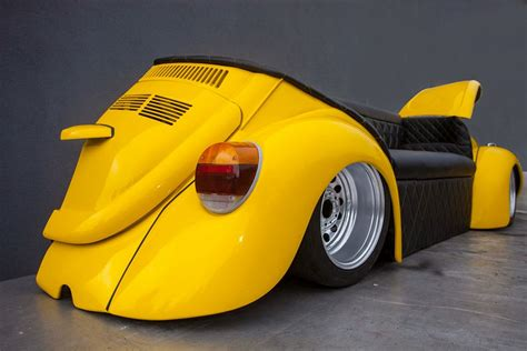 vw beetle couch cool retro style car sofa beetle herbie couch evolution gt