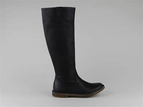 Kickers Traveling bottes femme cuir kickers