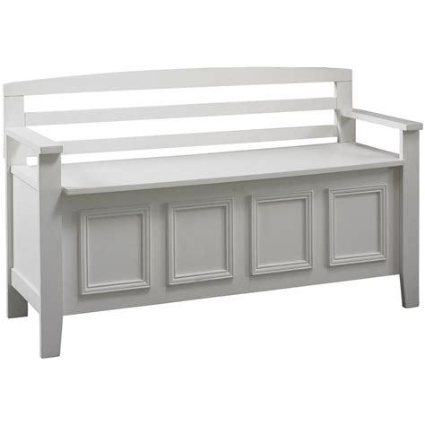 living room bench with storage linon laredo storage bench 609777 living room at