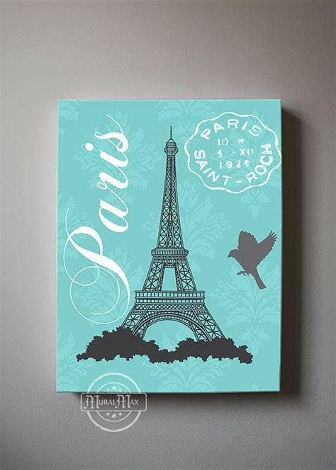 cute teenage girls room decor with eiffel tower theme 17 best images about paris canvas paintings on pinterest