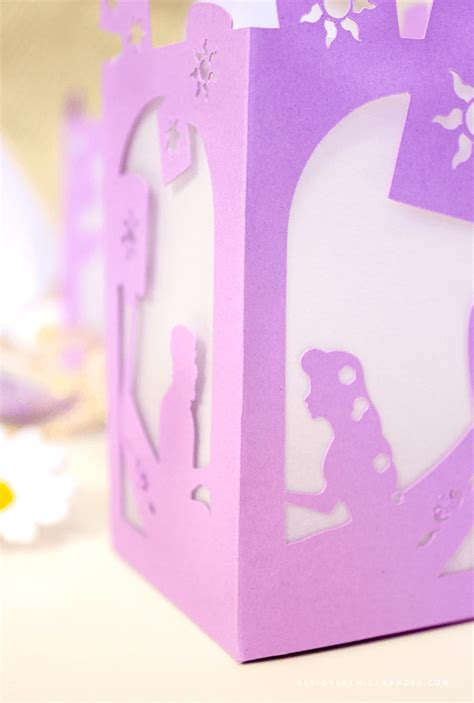 How To Make Paper Lanterns Like In Tangled - tangled paper lantern designs by miss mandee