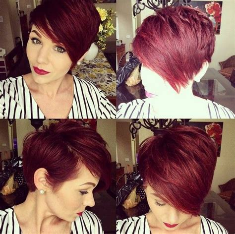 pixie haircut with side swept bangs 360 degrees 17 best images about splitting hairs on pinterest shorts