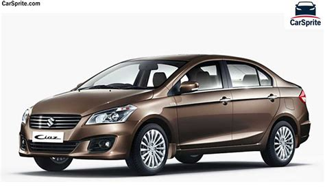 Cars Suzuki Suzuki Ciaz 2017 Prices And Specifications In Car