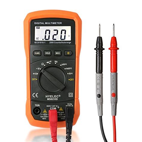 Multimeter Digital Digital Multimeter Crenova Ms8233d Auto Ranging Digital