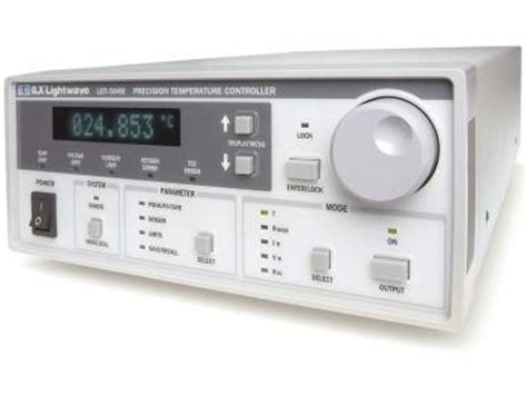 high power laser diode controller ldt 5900 high power thermoelectric temperature controllers