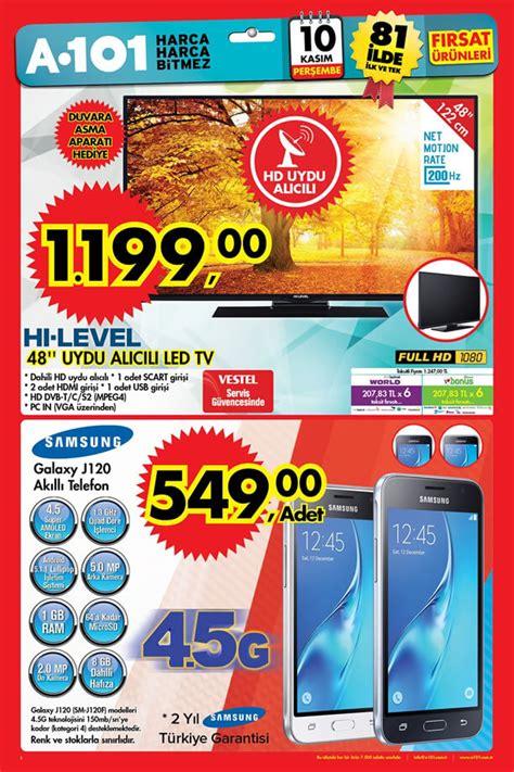 Samsung J A101 by A101 Market 10 Kasım 2016 Katalogu Samsung J120 Akıllı Telefon
