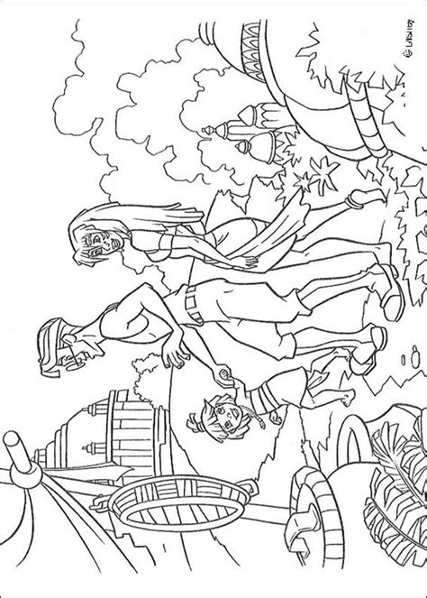 Kida Coloring Page Kida Photo 34910764 Fanpop Atlantis The Lost Empire Coloring Pages