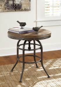 Rustic Accent Table Rustic Accents End Table T500 726 End Tables Furniture World Superstore