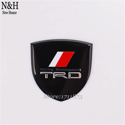 emblem logo trd sportivo 16cm x 2cm diskon popular toyota trd stickers buy cheap toyota trd stickers