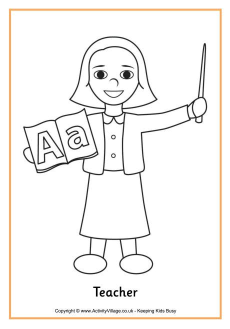 Teacher Printable Coloring Pages Coloring Pages For Teachers