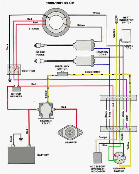 yamaha boat ignition wiring diagram wiring diagram with