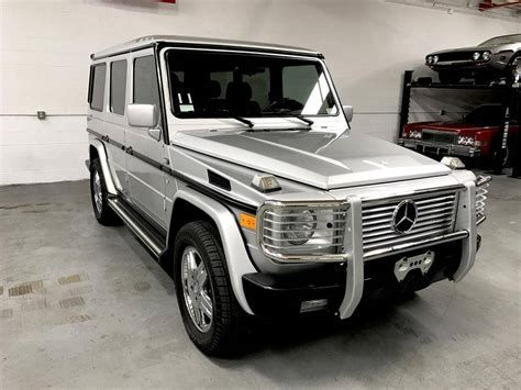 mercedes g500 2000 mercedes g500 for sale 1911069 hemmings motor