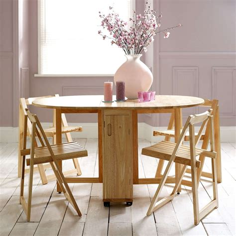 Folding Dining Table For Small Space Choose A Folding Dining Table For A Small Space Adorable Home