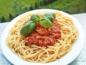 commandaria spaghetti bolognese