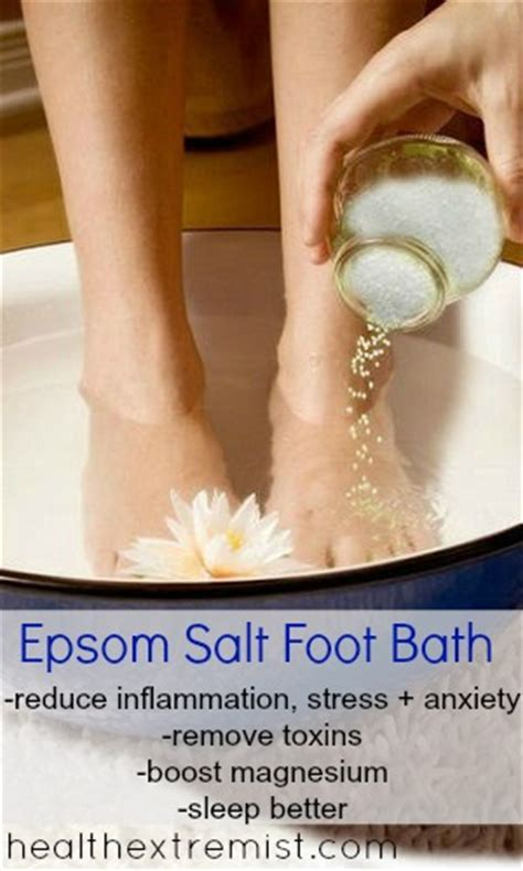 Detox With Epsom Salt Foot Bath by Bath Soak Without Epsom Salt