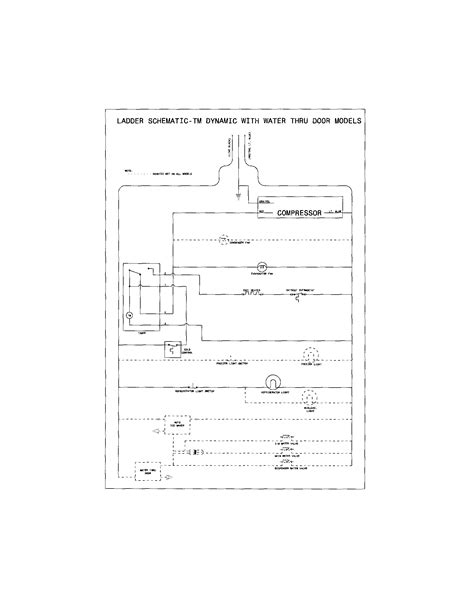 sears refrigerator wiring diagram circuit and schematics