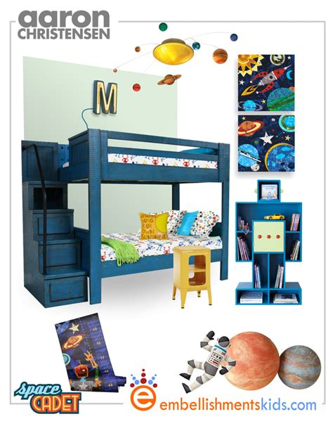 dirtbin designs boys space and solar system bedroom ideas decorate a cosmos space planet room with a canvas banner