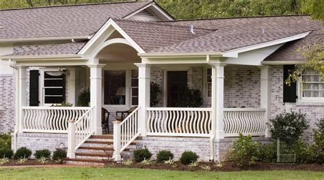 ranch style house plans with front and back porch house back porch designs ranch style homes front porch designs