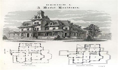 victorian mansion plans victorian mansion floor plans victorian homes house plans