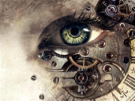 clock eyes themes steunk photos hd artwork abstract wallpapers hd