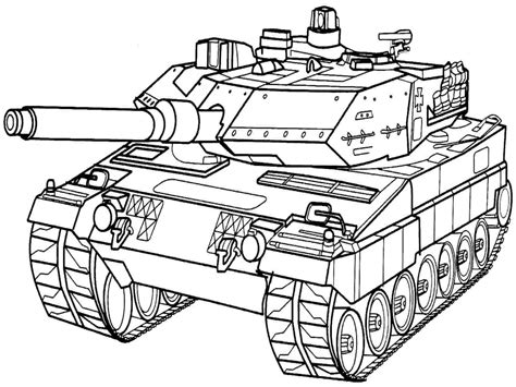 Army Tank Free Coloring Pages Army Tank Coloring Page