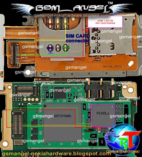 Keypad Sim Card Connector Mmc Nokia X3 02 nokia x3 02 wiring diagrams repair wiring scheme