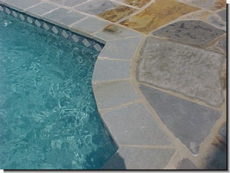 different types of pool coping by outdoorpaverscom on