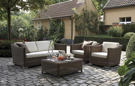 decorar jardin muebles decorar la terraza con muebles de exterior