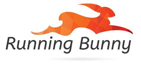 design logo running running bunny gecko designs