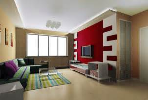 interior design on wall at home living room