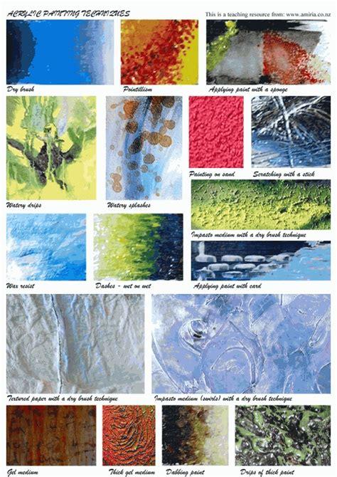 acrylic painting exles acrylics