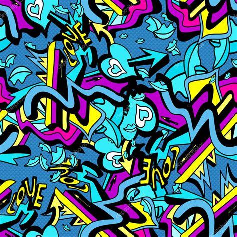 pattern graffiti artists ilustra 231 227 o de vetores de linhas grafite psicod 233 lico e
