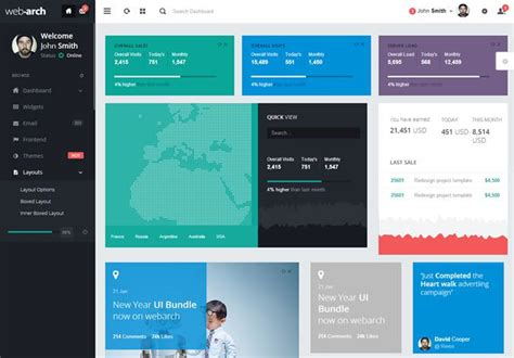 bootstrap layout left right 20 free premium bootstrap admin dashboard templates envato