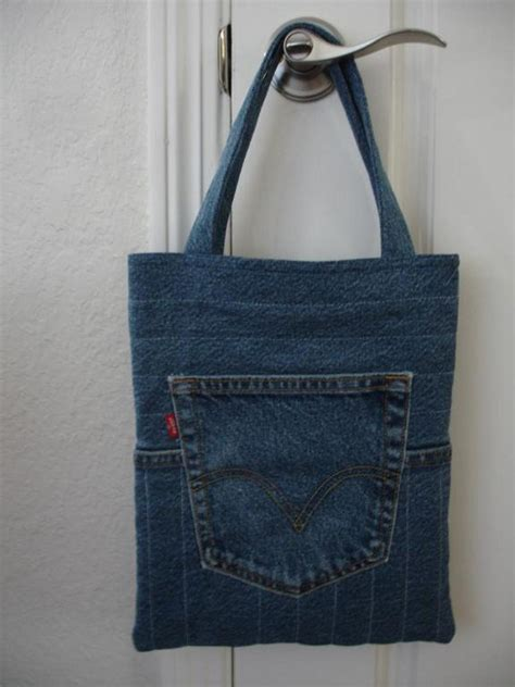 jeans tote bag pattern the quilted jeans tote craftsy