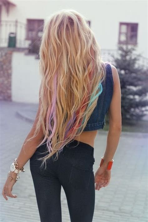 hairstyles with streaks of color 2202 best images about hair styles color on pinterest