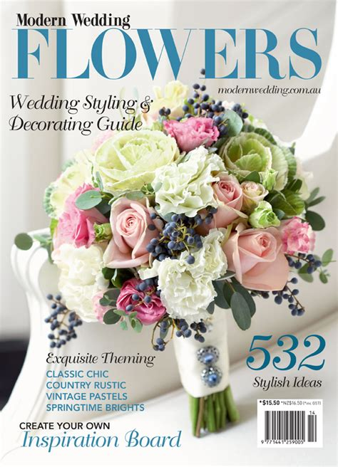flower wedding magazine say it with flowers modern wedding