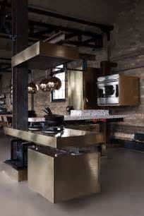 Kitchens Interiors A Kitchen With Industrial Look Designed By Tom Dixon
