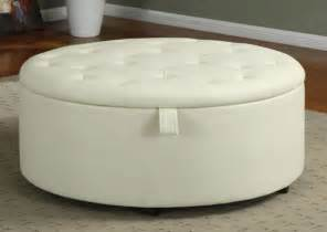 how to make a round ottoman with storage round fabric storage ottoman coffee table unique coffee