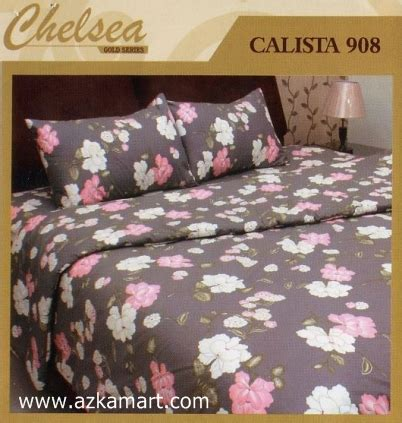 bed cover chelsea toko selimut sprei bedcover murah