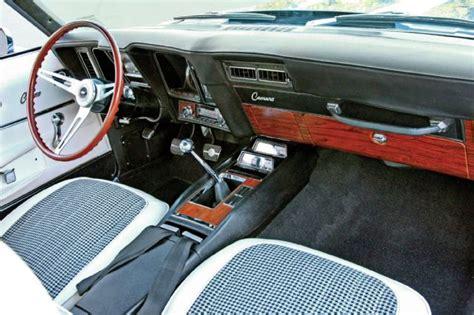 1969 camaro ss interior 1969 chevrolet camaro ss rs the blue maxi lives