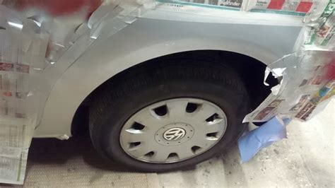 Rostflecken Lackieren by Vw Touran Smart Repair Lackieren